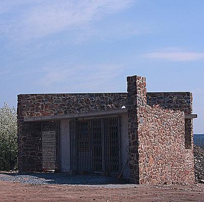 Stavba rozhledny na Velké Bukové