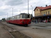 Železniční muzeum v Lužné