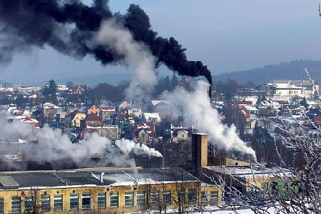 Stížnost na kouř z komína