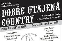 Dobře utajená country 2015