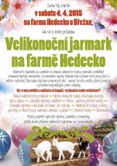 Velikonoční jarmark na farmě Hedecko