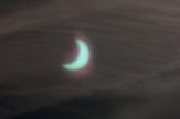 Zatmění Slunce Měsícem pozorováno v Rakovníku