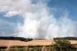 Požár lesa u Olešné na Rakovnicku (srpen 2015)