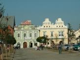 Husovo náměstí v Rakovníku