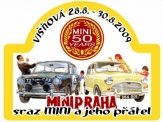 Sraz vozů Mini Cooper na Rakovnicku