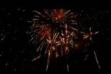 Novoroční ohňostroj v Rakovníku