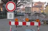 Úplná a částečná uzavírka silnice v městysu Kněževes