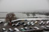 Hustě sněží také na Rakovnicku