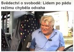 Svědectví o svobodě - seriál na Aktuálně.cz
