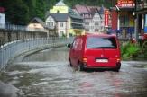 Povodně zasáhly nejvíce území severních Čech, na pomoc vyjeli i rakovničtí vojáci